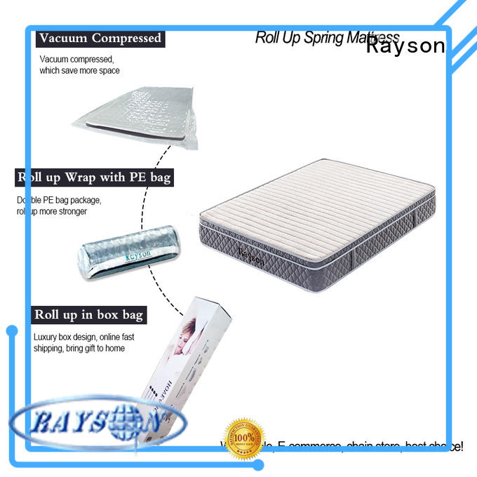 Rayson comfortable rolled single mattress top at discount
