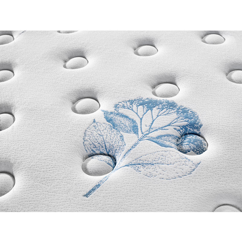 Tight top memory foam pocket spring mattress all size knitted fabric