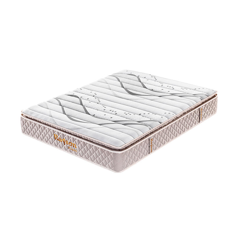 5-Zone Pillow top memory foam pocket spring coil mattress