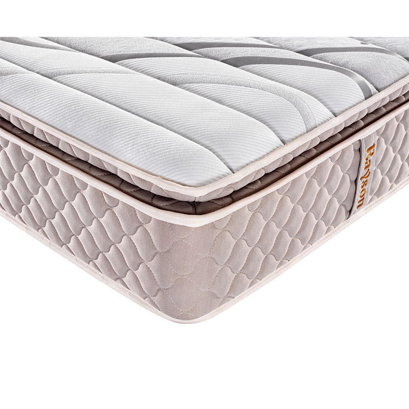5-Zone Pillow top memory foam pocket spring coil mattress