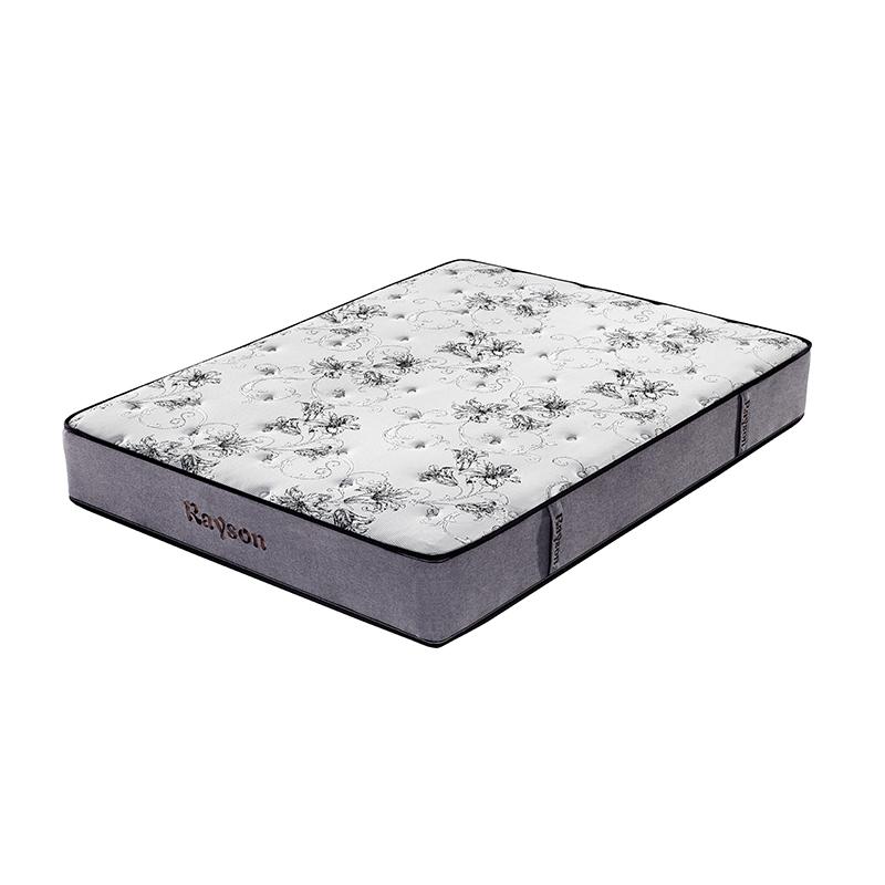 customized pocket sprung mattress king chic design knitted fabric high density-1