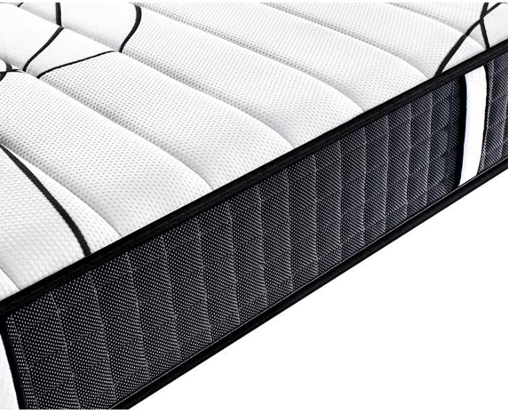 Pocket spring foam mattress tight top two sides available all size