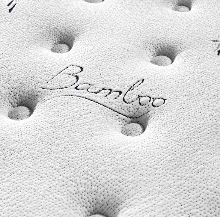 Hotel euro top pianka z pamięcią kształtu sprężyny materac malezja na ból pleców