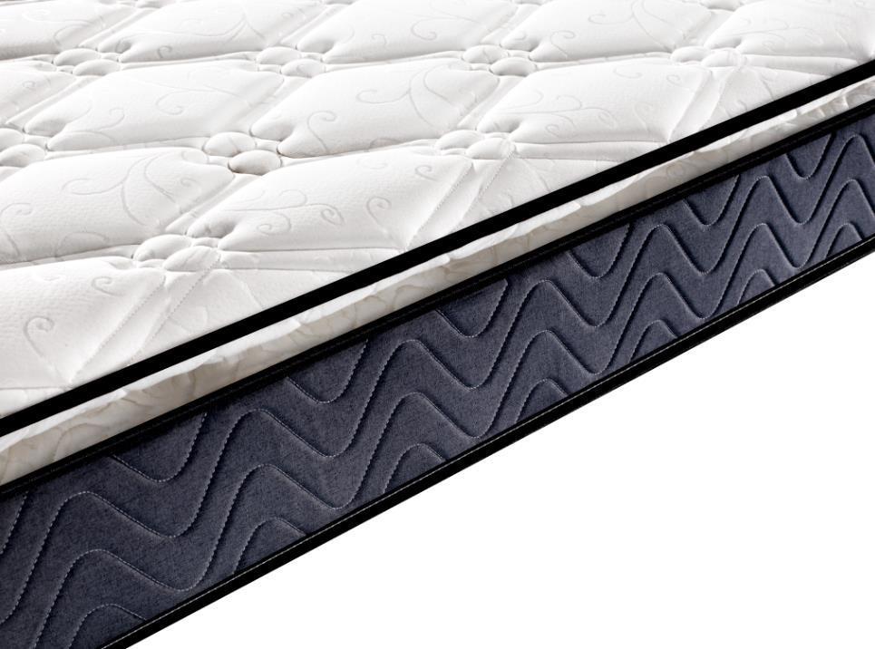 Full size pillow top roll up bonnell spring mattress online cheap