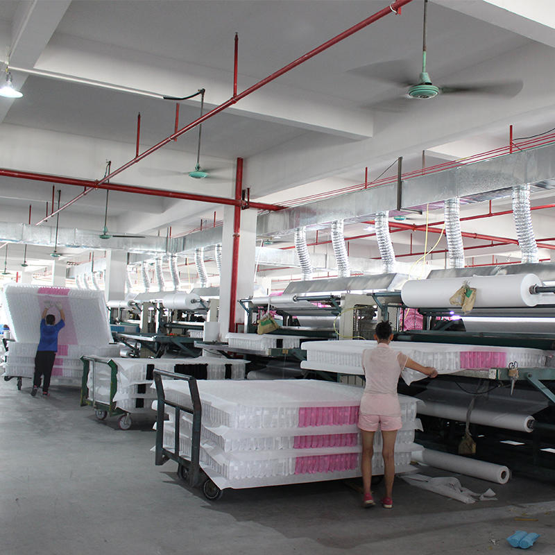 Pocket spring bonding  production-Rayson mattress