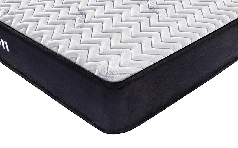 King size bonnell spring firm roll up cheap mattress-10