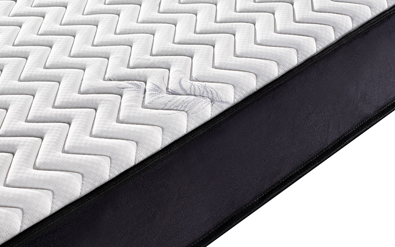 King size bonnell spring firm roll up cheap mattress-11