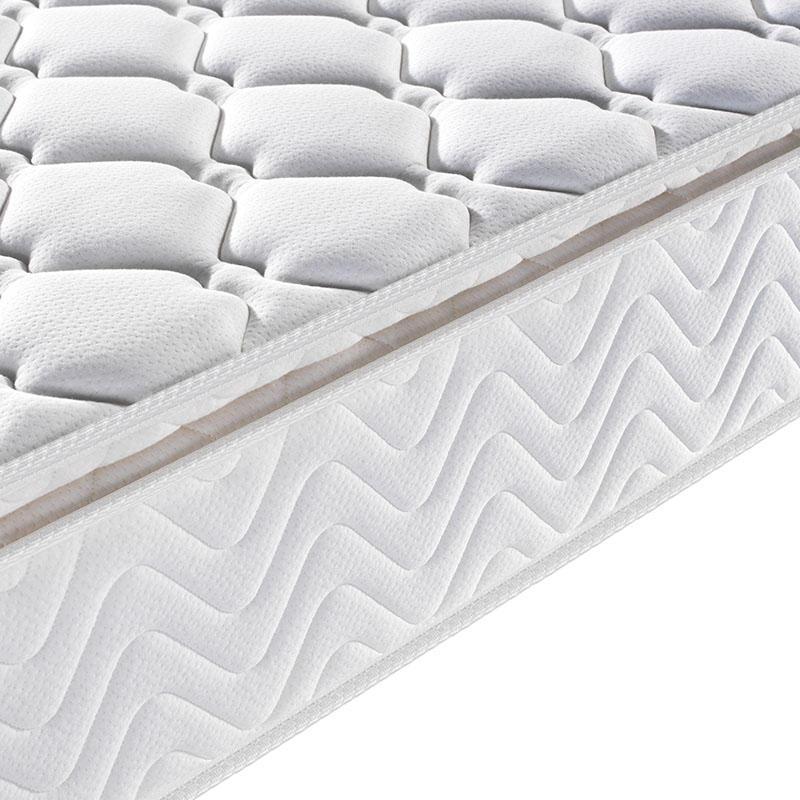 Plain design pocket spring super soft foam pillow top mattress