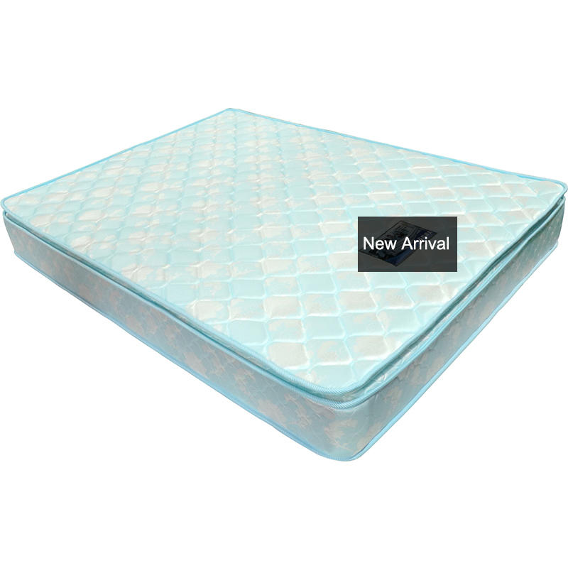 23cm height wholeale Pillow top luxury continuous spring mattress