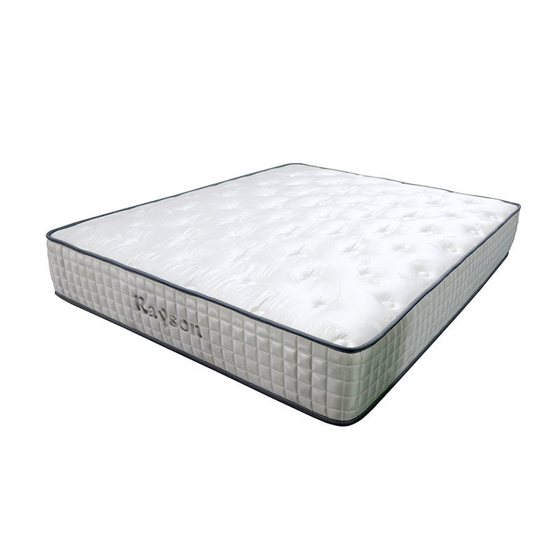 high-quality pocket memory mattress chic design knitted fabric light-weight