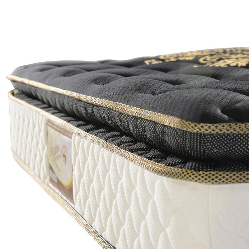 28cm Pillow top luxury custom hotel spring mattress