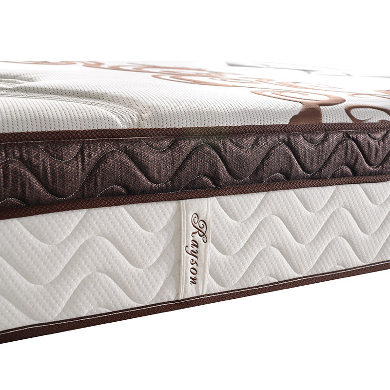 Luxury 36cm height pocket bonnell spring mattress king size