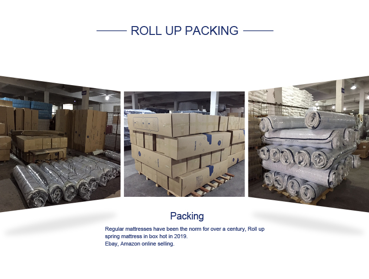 luxury roll up foam mattress at discount with pillow-12