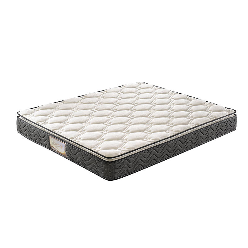 luxury pillow top roll up bonnell coil mattress in box