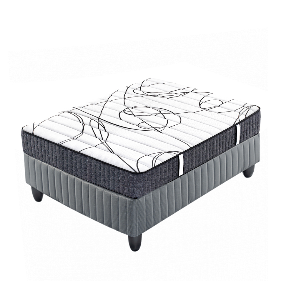Tight top foam pocket spring hotel mattress for apartment