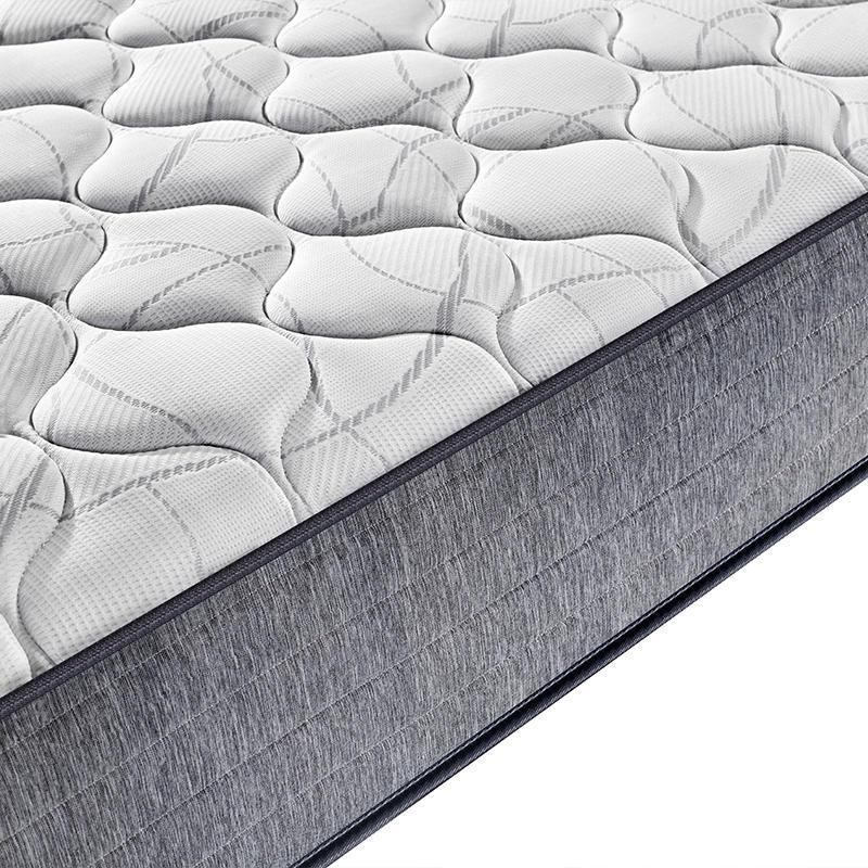 roll in box soft foam plain design pocket spring mattress