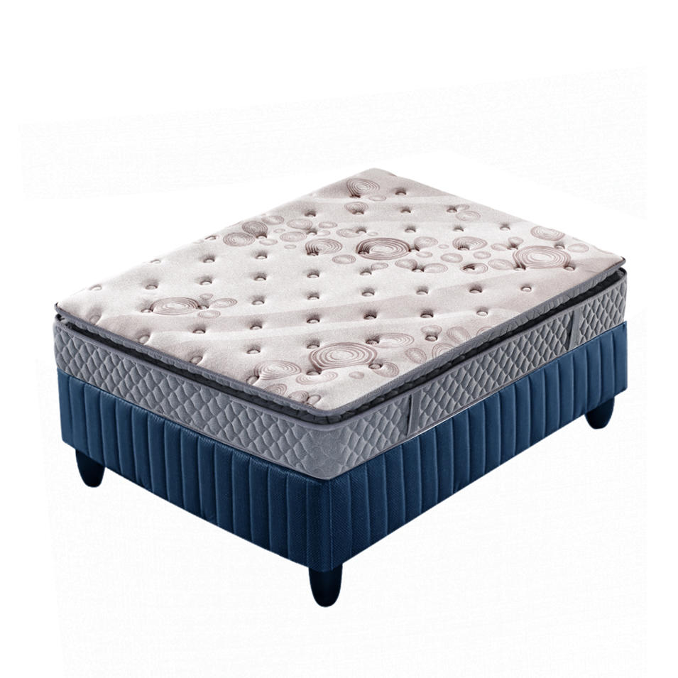 Custom King Size Memory Foam Pocket Spring Mattress