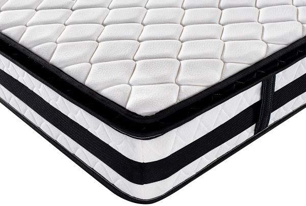 Vacuum Compress Twin Size Bonnell Coil Pillow Top Mattress