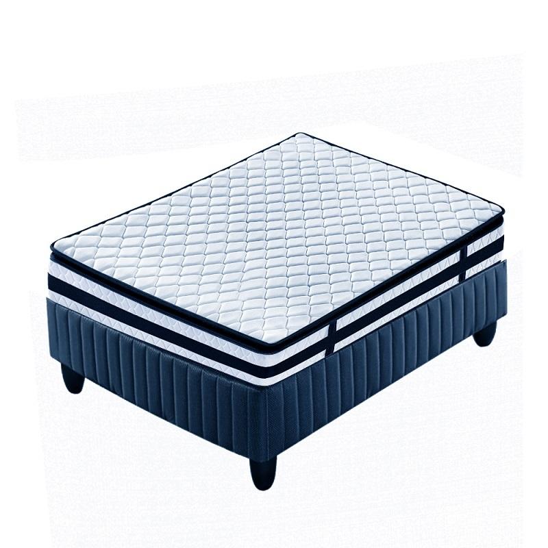 Vacuum Compress Twin Size Bonnell Coil Pillow Top Mattress