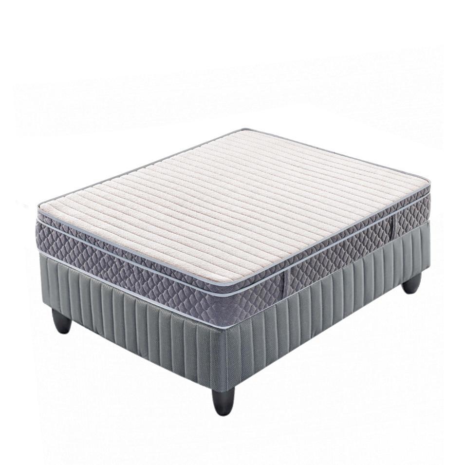 10 inch pocket spring memory foam mattress roll up matress
