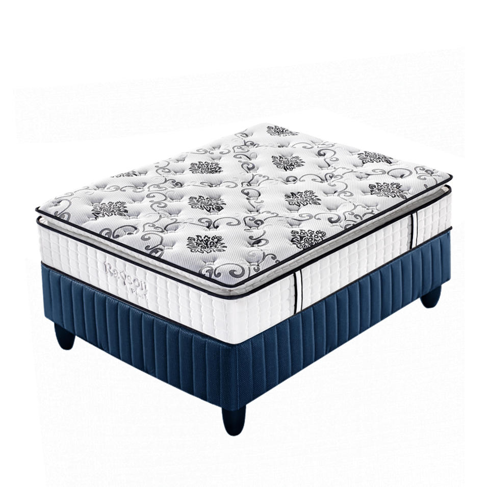 Custom Best Firm Pocket Coil Sprung Double Mattress Supplier