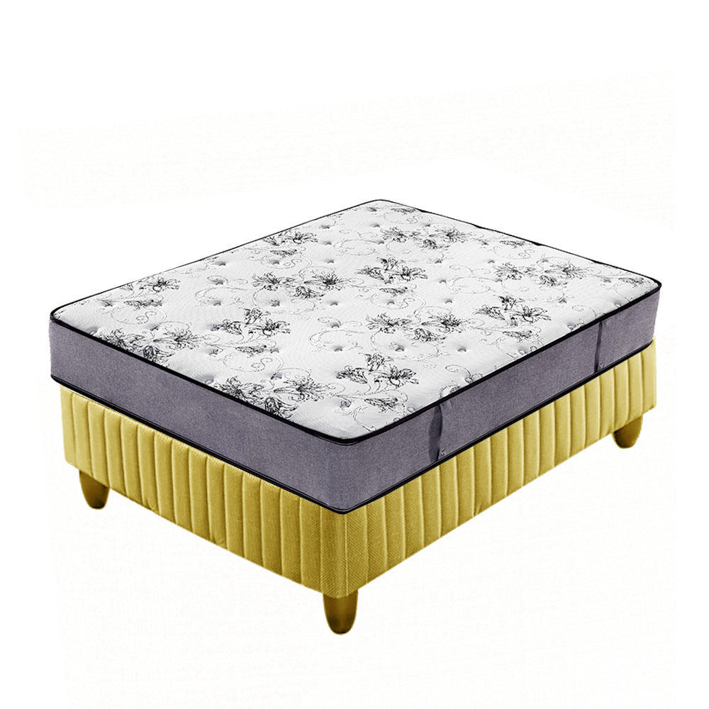 Tight top canvas fabric pocket spring mattress