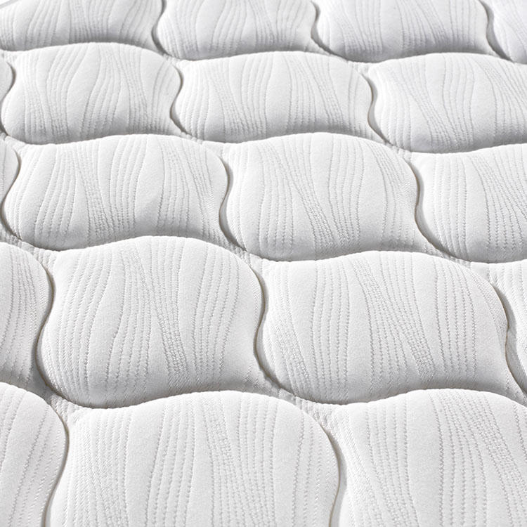queen size cool top firm Doubel pillow top kintted fabric pocket spring mattress