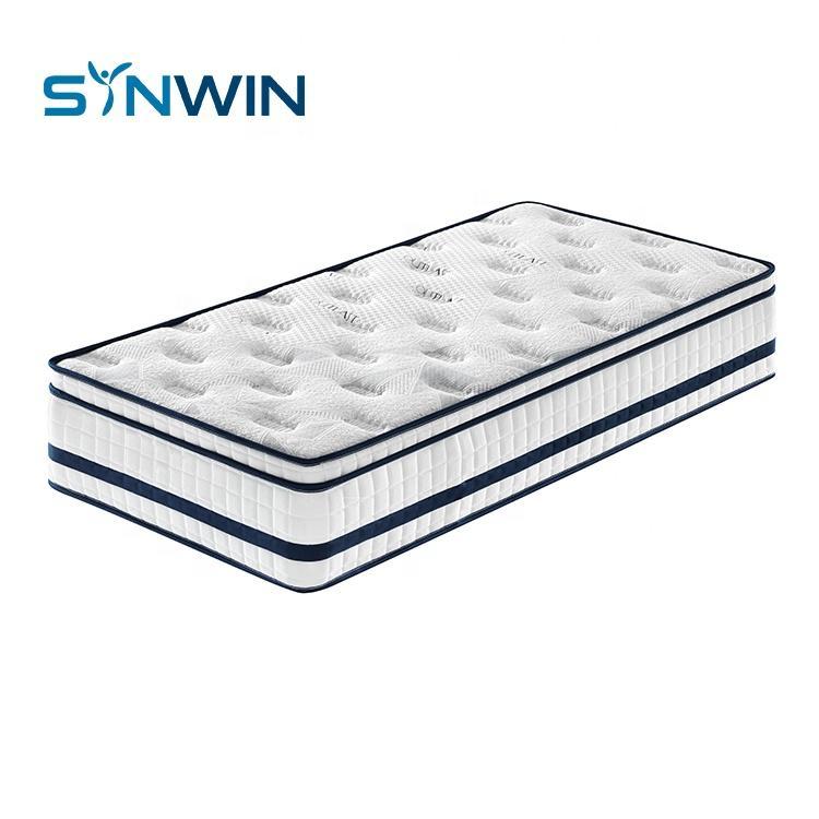 Bamboo Spring Mattress Memory Foam Bed Mattress For Export Mattress