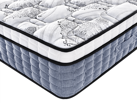 Box roll pack mattress factory and exporter bamboo knitted fabric pocket spring mattress importers