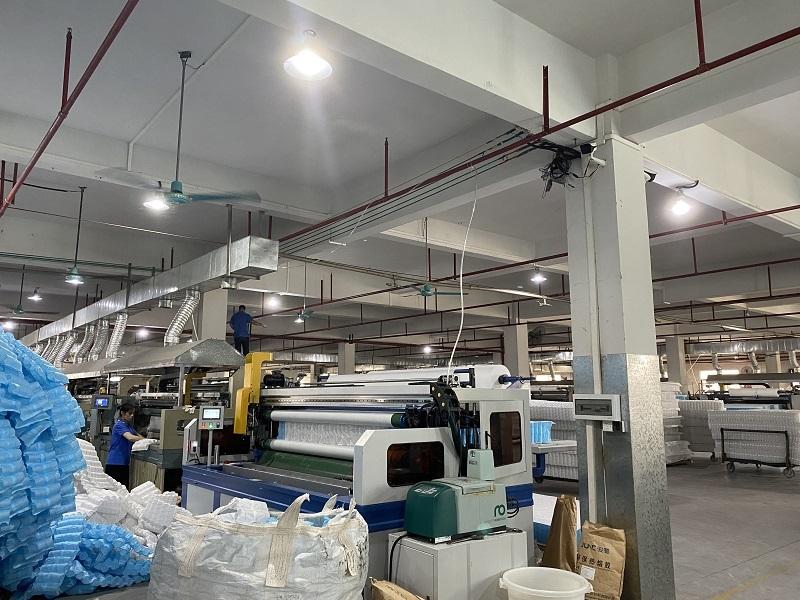 Mattress Quilting  Procession
