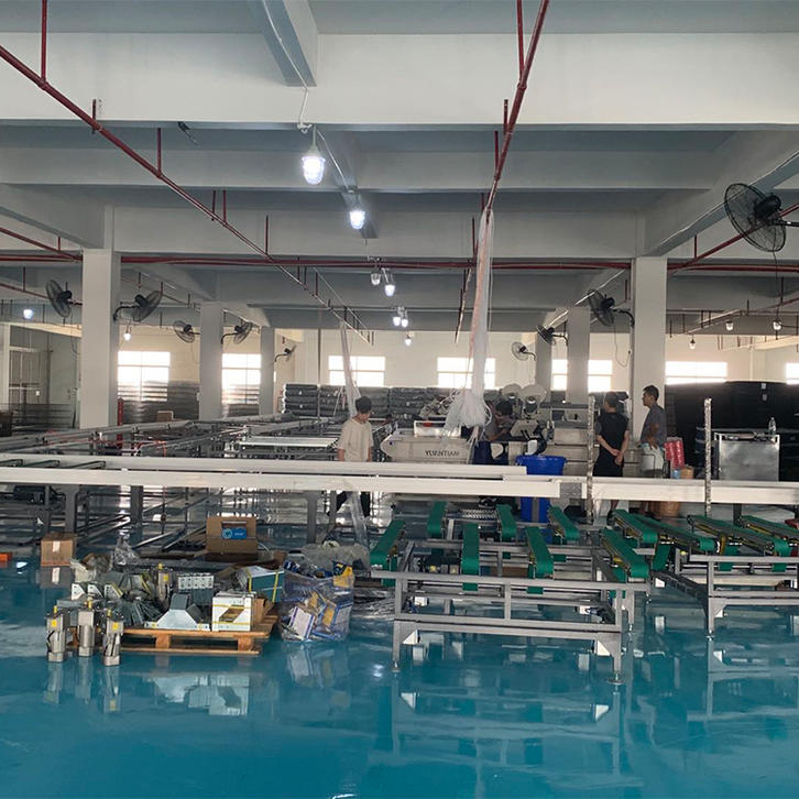 New automatic production lines