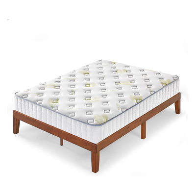 tight top 20cm knitted fabric continuous spring cheap mattress