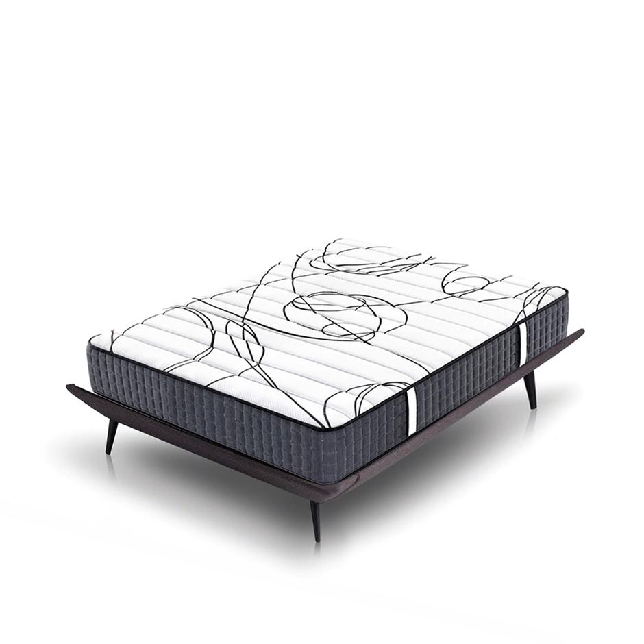 Diamond wholesal pocket coil foam firm spring mattress king size bed and mattress