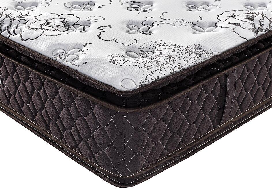 Manufactur spring good mattress double pillow top tight top euro top bed mattress hotel spring mattress