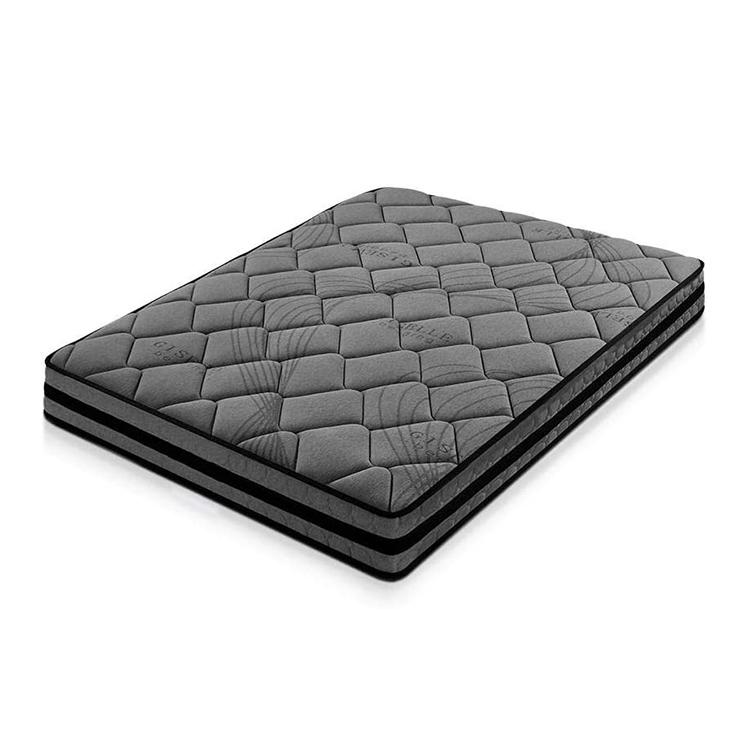 22cm Dark knitted fabric pocket spring roll in box mattress