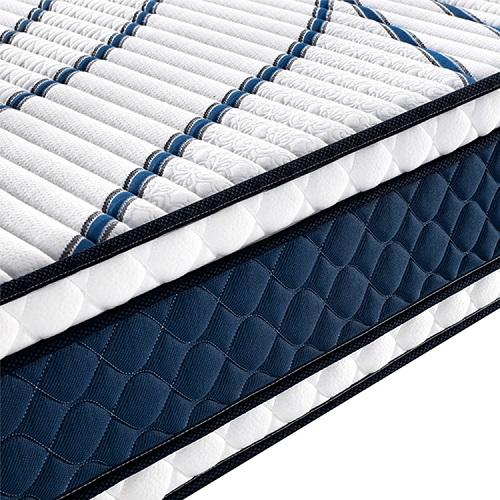 Sofe gel memory bed foam mattress pocket spring coils single bed latex queen mattress and box spring