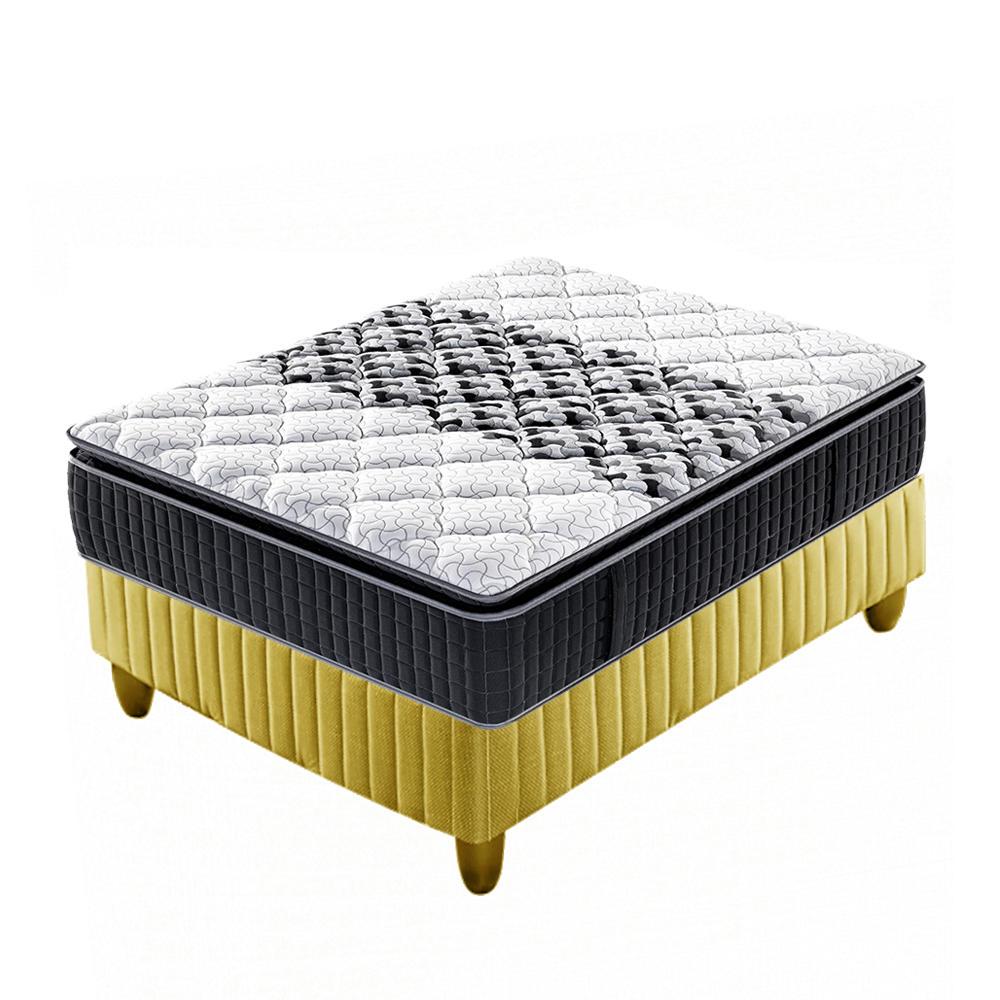3zones foam pillow top pocket spring 5 star hotel mattress