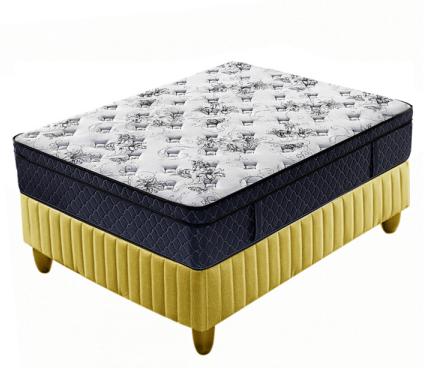 euro top high density foam spring mattress