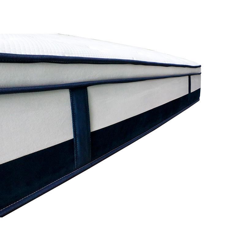 customized hotel king size gel memory foam 5 zones pocket spring mattress