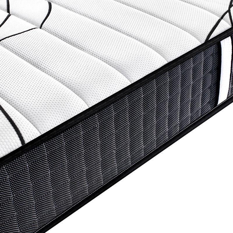 pocket spring mattress in a box bed queen memory foam vaccum spring mattress