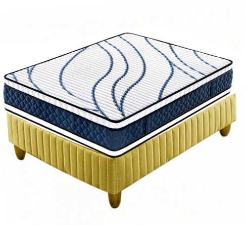 Double side use thick bonnell spring hotel mattress