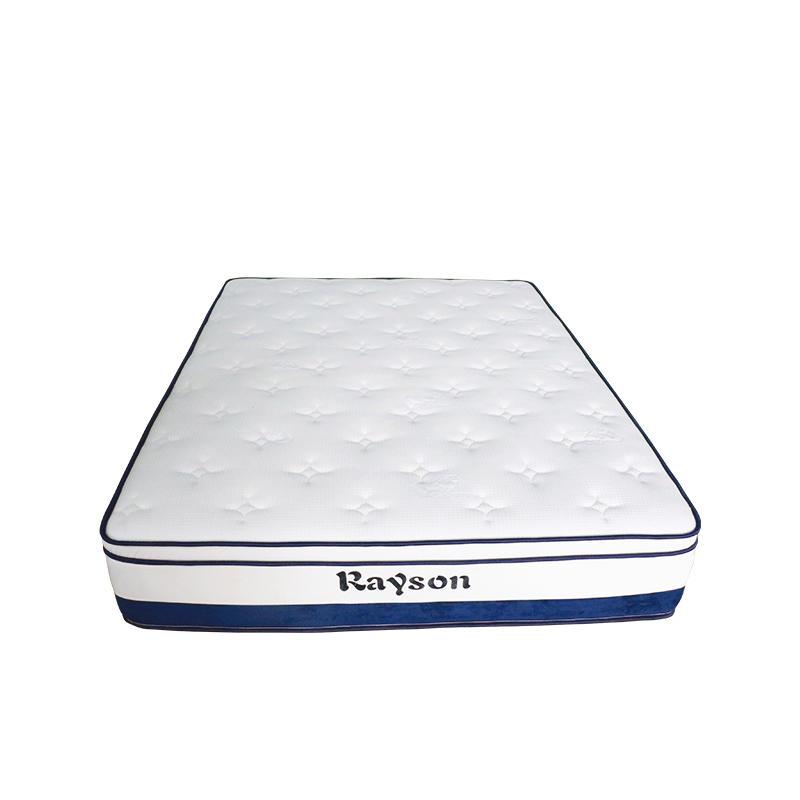30cm euro top memory foam hotel flat compress mattress