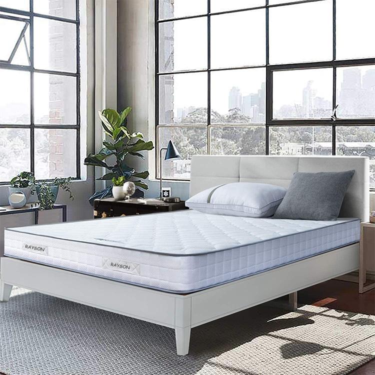 Mattress roll up in box Euro top firm custom factory wholesale pocket spring mattress