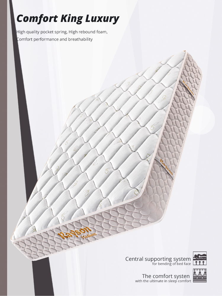 Roll up Mattress for Student High Quality Rolled up Pocket Hotel Mattress