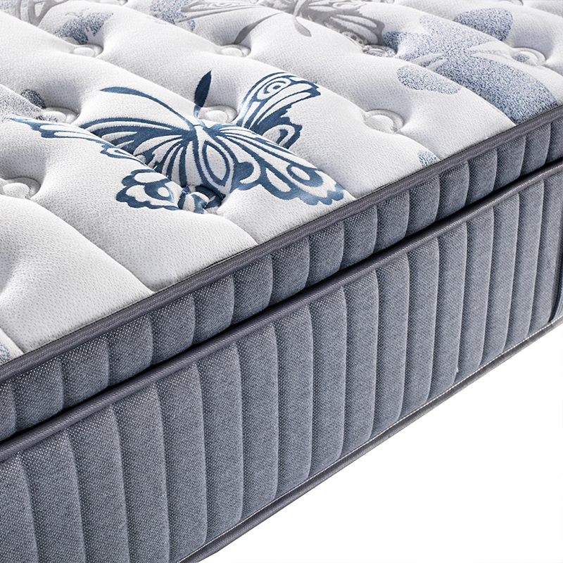 5 star Synwin China factory Euro Top Hot Sale 7 Zone Pocket Spring Hybrid Mattress