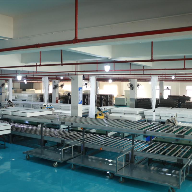 China biggest mattress workshop overview
