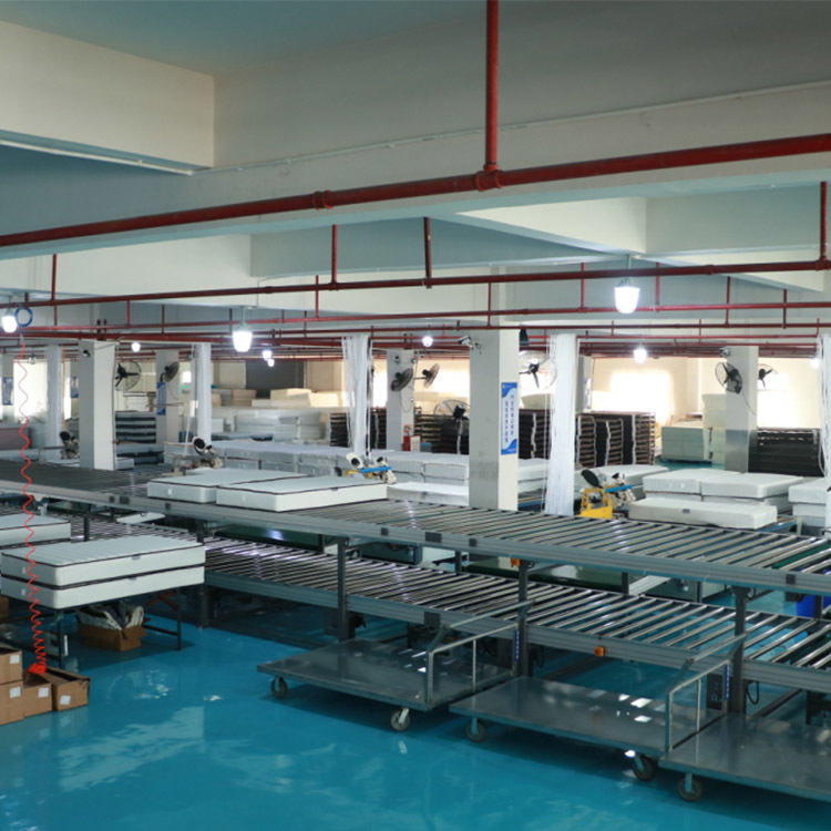Foshan Synwin mattress workshop overview