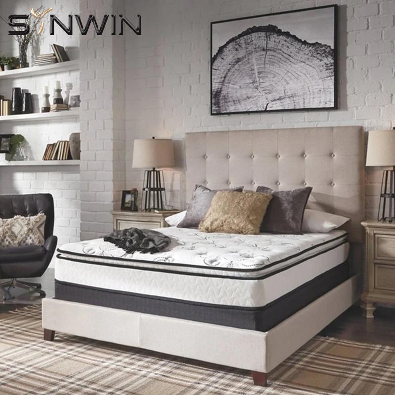 Tight top memory foam spring mattress-Synwin