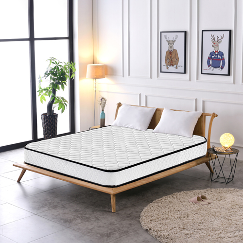 High quality Competitive Price 200x200  Roll up Bonnel Spring mattress in a box