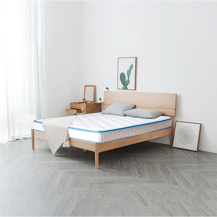 customized roll up single mattress bonnell sprung memory foam mattress